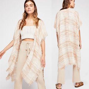 NWT• Free People• River Bend Woven Kimono